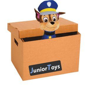 Paw Patrol Mystery Paket mit 10 Original Lizenzartikeln inklusive Plüschfigur