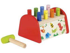 PLAYTIVE®JUNIOR Holz-Lernspiel (Klopfbank)