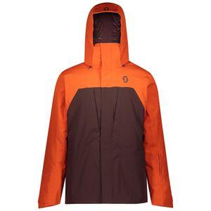 Scott Skijacke Herren Ultimate Dryo 10 orange pumpkin/red fudge S