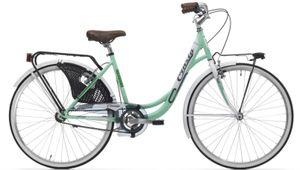 26 Zoll Cityrad Cinzia Liberty Lady Single Speed Mint-Weiß 44 cm Rahmengröße