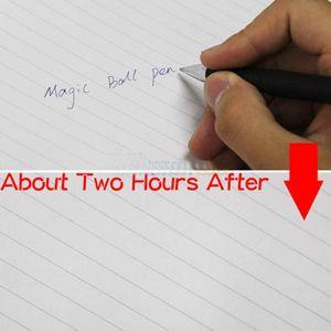 Auto Disappearing Magic Kugelschreiber Verschwinden Unsichtbares Tintenentwurf Geschenk