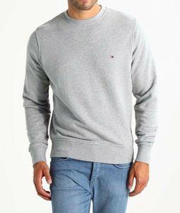 Tommy Hilfiger Herren Pullover Sweatshirt Langarm  Grau   M
