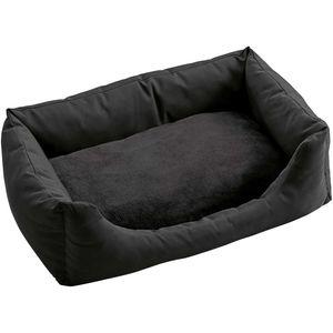 HUNTER Hundesofa Ravina - Größe: L (100 x 70 cm) - Ausführung: schwarz
