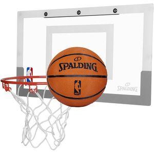 SPALDING Slam Jam Mini Basketballboard transparent
