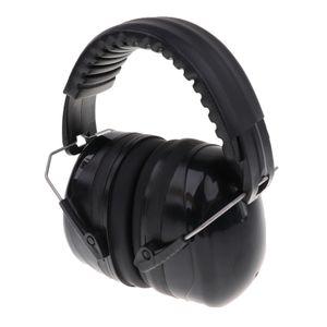 Sicherheits-Ohrenschützer professionelle Gehörschutz für den Schlaf / Schießen schwarz wie beschrieben