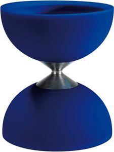 Acrobat diabolo 105 Gummi 12 x 10,5 cm blau