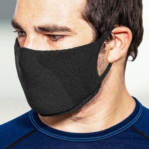 TRERE Social Mask Sportmaske Mund-Nasen-Bedeckung black M
