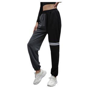 Frauen schwarz entspannte Mode Außenhandel Haren Casual Jogginghose Größe:M,Farbe:Schwarz