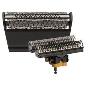 Braun Elektrorasierer Ersatzscherteil 30 B Schwarz – Kompatibel mit Series 3 Rasierern