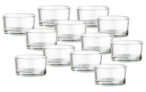 Teelichthalter Glas 12x