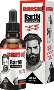 Brisk Bart Öl 50ml Geruchsneutral