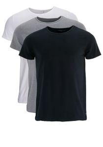Tommy Hilfiger Herren 3 Stück Premium Essentials T-Shirts, Mehrfarbig M