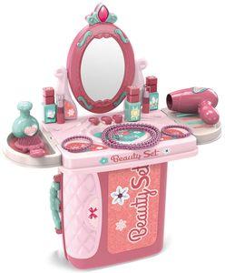 Luna Kinder Koffer Beauty Frisiertisch mit Zubehör Styling Spielset 14-tlg. +3J