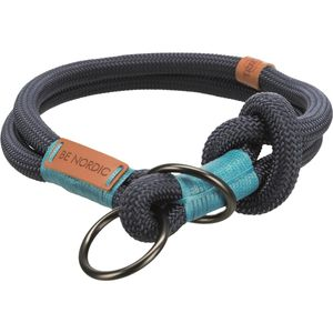 Trixie BE NORDIC Zug-Stopp-Halsband - dunkelblau 45 cm