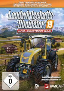 Landwirtschafts-Simulator 19 - Alpine Landwirtschaft (Add-On) - CD-ROM DVDBox