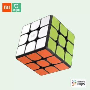Xiaomi Mijia Smart Zauberwuerfel XMMF01JQD APP Paedagogische Puzzles Spielzeug 3D Dynamische Grafiken Lehre Sechsachsensensorsystem Professionelle Rennstruktur Smart Home Linkage