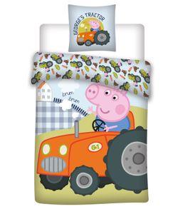 Peppa Wutz - Baby-Bettwäsche, 100x135 & 40x60 cm - Peppa Pig