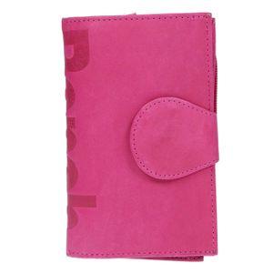 Bench große Damen echt Leder XXL Geldbörse Portemonnaie Münzbörse Brieftasche Lila