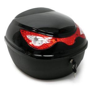 Top Case 22L schwarz Motorradkoffer Helmkoffer Roller Motorrad Rollerkoffer