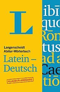 Langenscheidt Abitur-Wörterbuch Latein-Deutsch