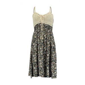 Hailys Damen Kleid Hf-1808047no.4240 Black Flower