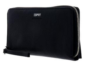 ESPRIT Foc Classic Multi Zip Around Wallet Black