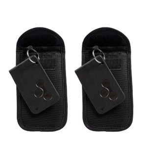 ECENCE 2x RFID Autoschlüssel Tasche, Keyless abgeschirmtes Schlüsseletui mit Diebstahlsicherung S