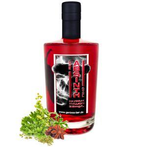 Absinth Red Chili 0,35L mit maximal erlaubtem Thujongehalt von 35 mg/L 55%Vol