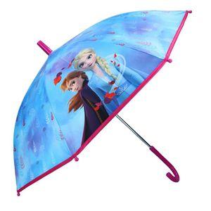 Disney 'Frozen 2' Kinder Regenschirm Stockschirm, ∅ 72 cm, blau