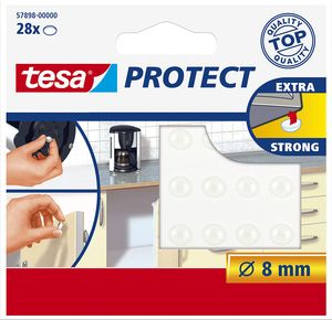 tesa Protect Lärm /Rutschstopper rund Durchmesser: 8 mm selbstklebend 28 Stück