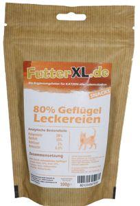 100g FutterXL 80% Geflügel Leckereien