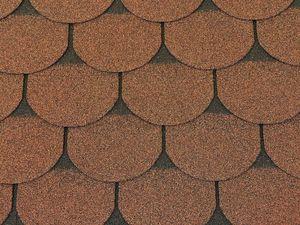 Isolbau Dachschindeln 9 m2 Biberschindeln Braun (3 Pakete) Schindeln Dachpappe Bitumen