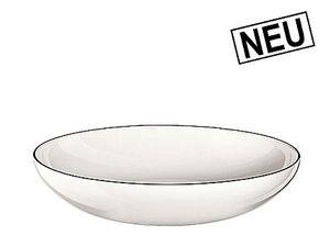 ASA Pasta-/Suppen-Teller, ligne noire, D.22cm, H.4