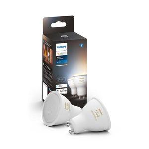 Philips Hue Bluetooth White Ambiance LED GU10 4,3W 230lm Doppelpack