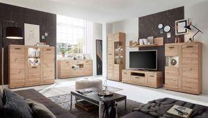Arsenal Wohnzimmer Komplettset Artisan Eiche