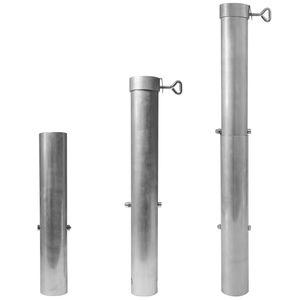Bodenhülse Sonnenschirm bis 60 mm und bis 5 m Durchmesser
