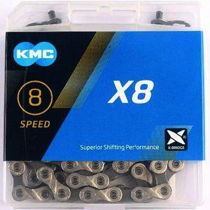 Kmc X8 Silber/Grau 114-Glieder 7/8-Fach
