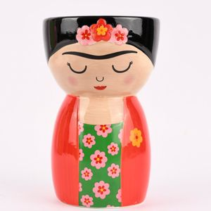 Sass & Belle Pflanztopf Frida Kahlo® 11x19cm