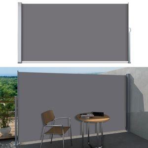 SVITA Seitenmarkise 180x300 Dunkelgrau / Anthrazit Sichtschutz Sonnenschutz