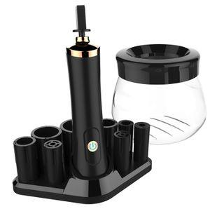 Makeup Pinselreiniger und Trockner, 10 Sekunden schnell trocknender Makeup Pinselreiniger USB-Aufladung