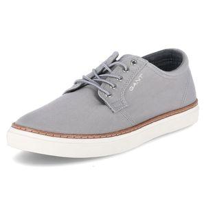 GANT Herren Sneaker Leinenschuhe Textil grau 45