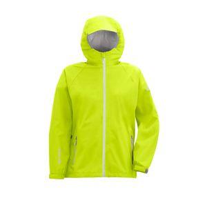 Wäfo Herren 7685 Herborg 2 1/2-Lagen-Laminat-Regenjacke Jacke Kapuze, hochatmungsaktiv, gelb, Größe: L