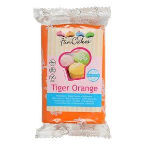 FunCakes Fondant Tiger Orange 250g