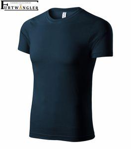 T-Shirt Marineblau 4XL unisex Furtwängler P71 Baumwolle 135 g/m² abreißbares Etikett - tear off