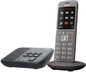 Gigaset CL660A mit Box 200A Schnurlostelefon mit Anrufbeantworter anthrazit