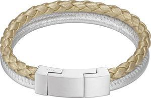 Esprit Damen Armband Edelstahl Silber/Gold ESBR11589A170