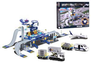 Majorette Creatix Airport Lufthansa Flughafen Spielset