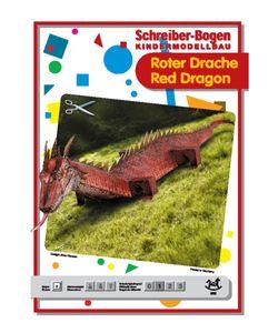 Schreiber-Bogen Kindermodellbau Roter Drache