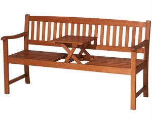 Siena Garden Gartenbank Florida 2-Sitzer Akazienholz natur