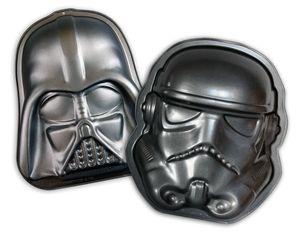 Star Wars Backformen Set Darth Vader und Stormtrooper